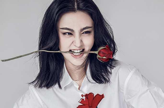 간루(甘露) 패션 사진 공개, 냉염하고 섹시한 매력 발산