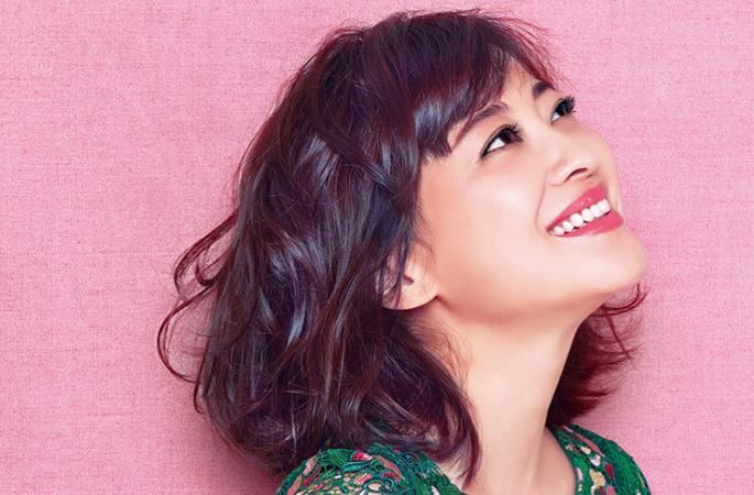 """메이팅(梅婷) 산후 놀라운 보디라인, 달콤한 """"행복경""""을 전수해"""