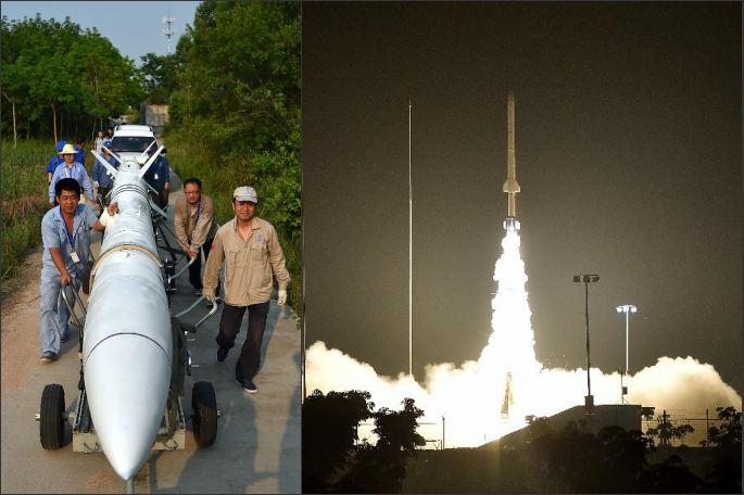 中 '쿤펑(鯤鵬)-1B' 사운딩 로켓 성공 발사