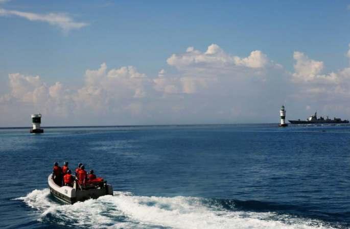中해방군 남중국해 함대 원양훈련 편대 난사서 순항