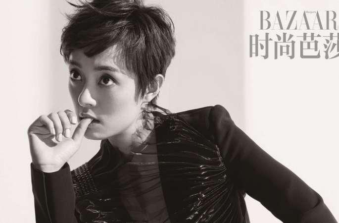 순리(孫儷) 패션 아이콘 대변신! 유혹적인 몸매로 표지 장식