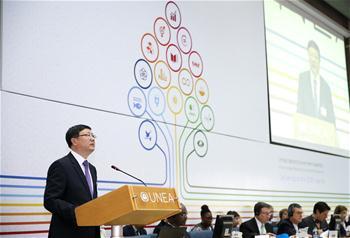 천지닝:중국은 세계 지속발전에 중대한 기여를