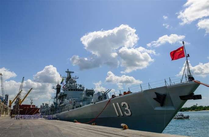 中해군 제22차 호위편대 탄자니아 방문