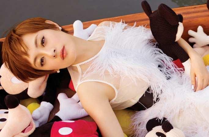 순리(孫儷) 디즈니랜드 테마 화보 공개, 귀엽고 '천진난만'