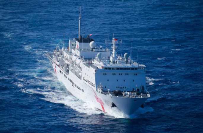 '환태평양-2016' 군사훈련 참가 中해군 함정, 예정 해역 항행