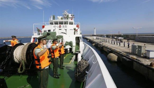 中國海警圓滿完成對韓海上執法機構首次訪問