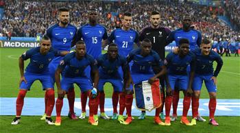 유로 2016 4강 진출전: 프랑스 5대2로 아이슬란드 이겨