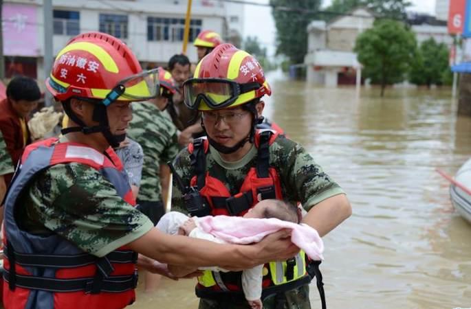 [사진 기록]홍수와 싸우는 강인한 전사들