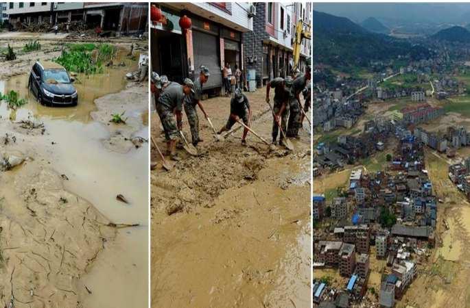 푸젠 민칭: 홍수 범람해, 10명 사망 11명 실종