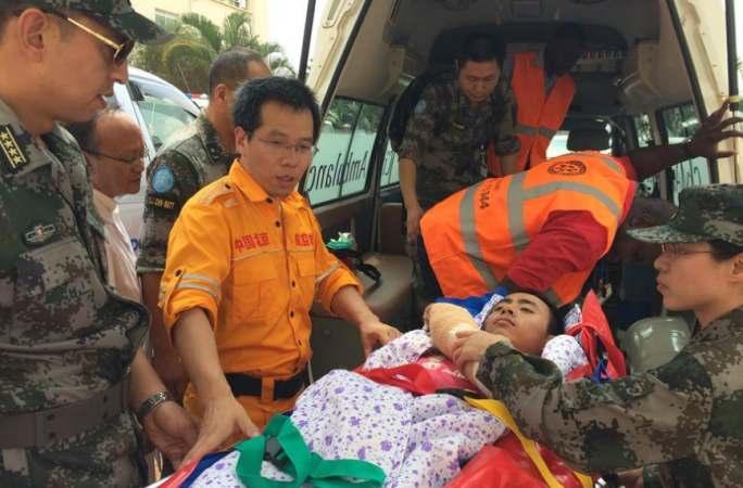 남수단서 부상당한 2명 中평화유지군 전사 귀국해 치료