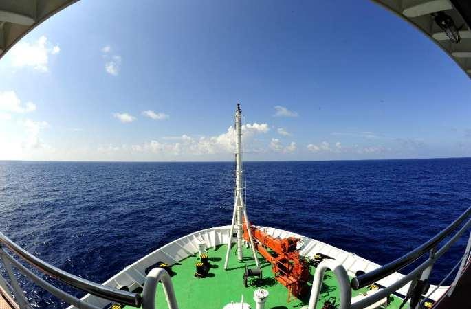 """""""장젠(張謇)""""호, 남중국해 목표해역 도착...심해 설비 테스트와 과학 조사 진행"""