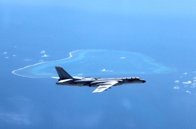 중국 공군 항공병 남중국해서 상시화 전투 순찰 진행