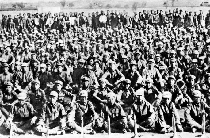 중국 홍군의 옛 사진 大공개, 위험천만!