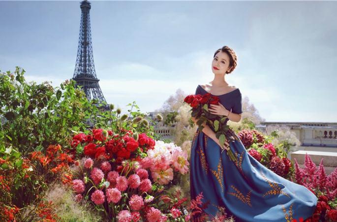 예비 신부 린신루, '사자' 기다리는 꽃밭의 공주