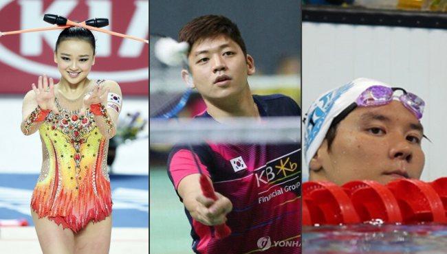 裏約奧運會韓國代表團