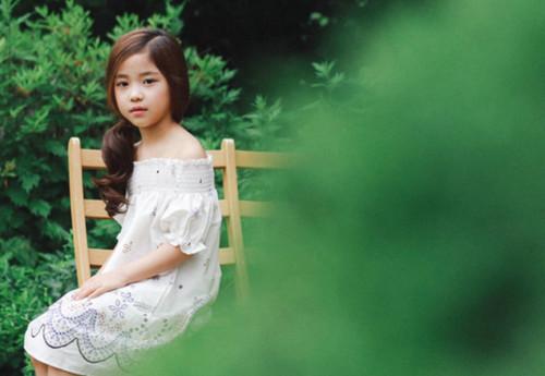 韓國七歲小模特黃詩恩走紅 從小就美是什麼樣的體驗