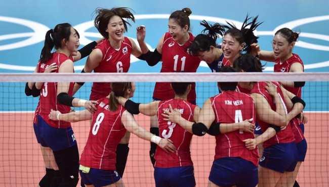 女排小組賽:韓國勝日本