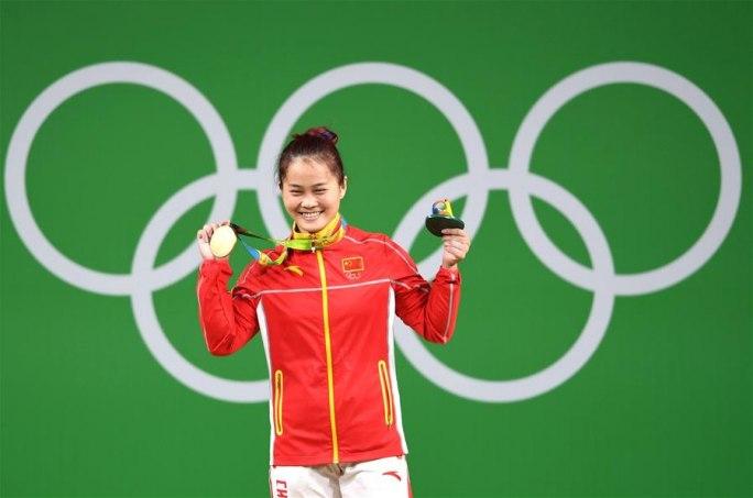 [리우 올림픽] 역도 여자 63kg급, 中선수 덩웨이 세계신기록으로 금메달