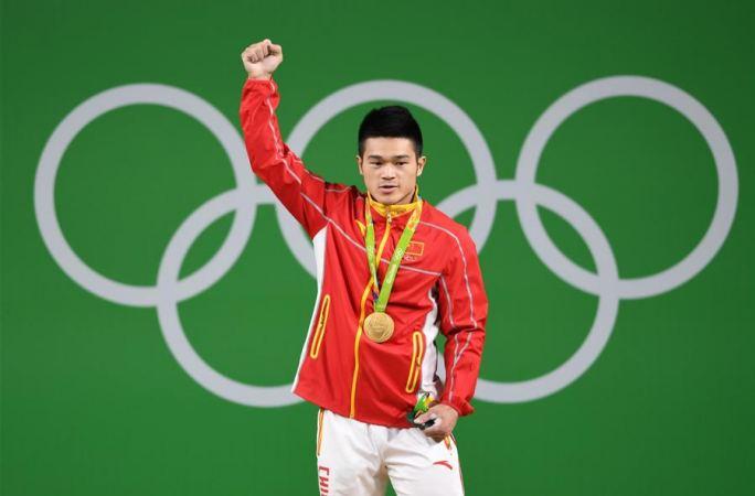 [리우올림픽]남자 역도 69㎏급, 스즈융 금메달