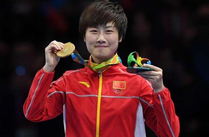 [리우올림픽] 탁구 여자단식, 中선수 딩닝 금메달