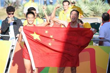 [리우 올림픽]中, 육상 남자 20km 경보 金,銀메달