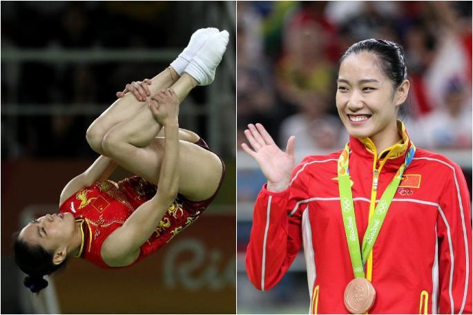 [리우 올림픽] 中 리단, 트램폴린 여자 결승 동메달