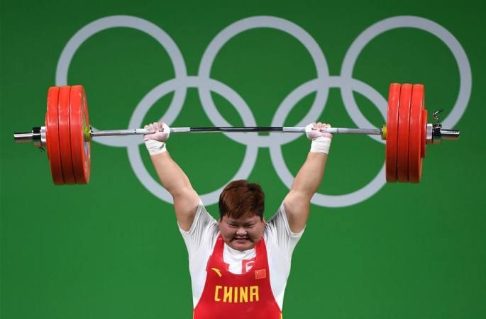 [리우 올림픽] 中 멍수핑, 여자 역도 75kg 이상급 금메달
