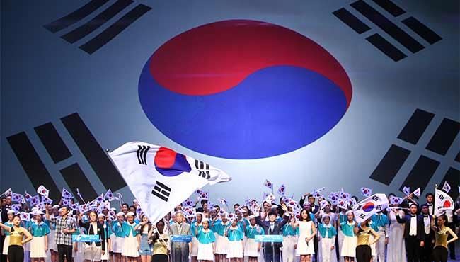 韓國團體紀念光復節