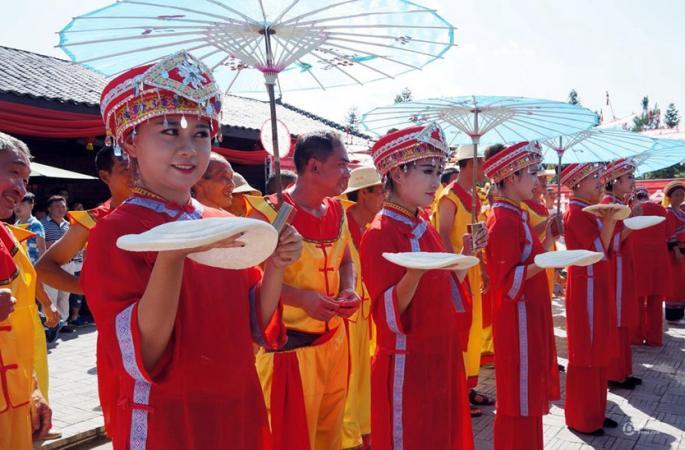 후베이 토가족 맞선 축제, '동양의 밸런타인'