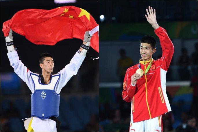 [리우올림픽] 中 자오솨이, 태권도 남자 58kg급 金