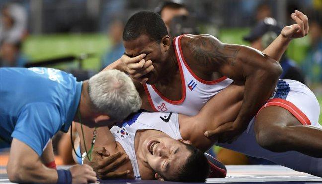 男子自由式86公斤級賽況