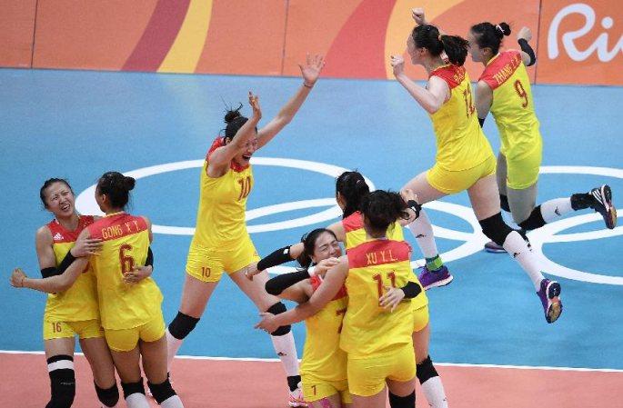 [리우올림픽] 중국 여자배구 金