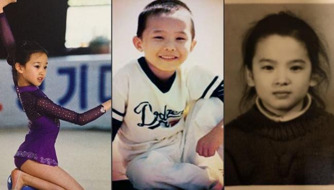 韓星可愛童年照盤點