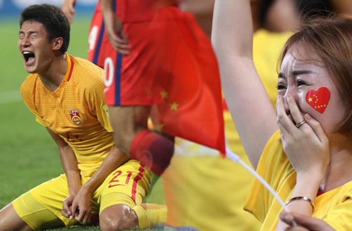 中 축구 국가대표팀 2:3으로 韓에 패배... 후반 연속 두 골로 아찔한 추격