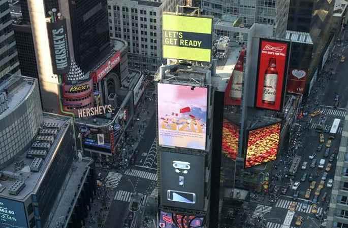 G20항저우 정상회의 홍보영상 뉴욕 타임스퀘어 광장서 선보여