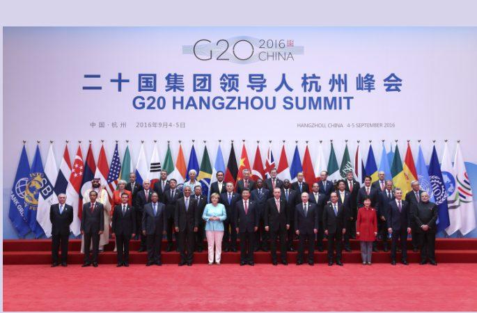 G20 항저우 정상회의 개최, 시진핑 中 국가자석 회의 주재 및 개막사 발표(포토)