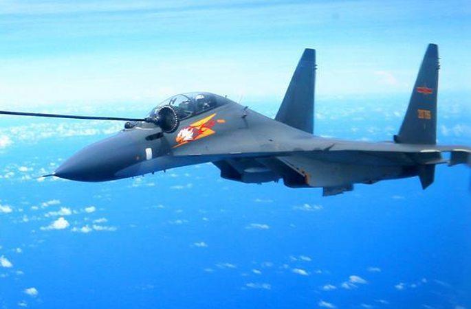 中 공군 다형 전투기 서 태평양에 가서 원해 실천능력 검증