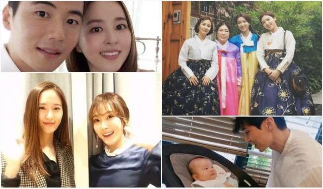 韓星帶家人中秋秀幸福
