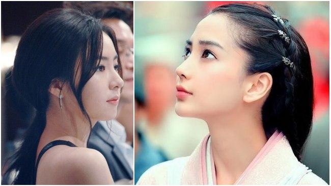 中韓女星誰才是側顏女神