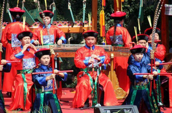 베이징 톈탄 음악단, 쑤저우서 고대 황실 공연 선보여