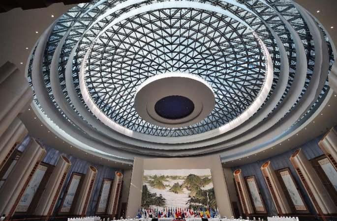 항저우 G20 정상회의 메인 회의장 일반 시민에 개방