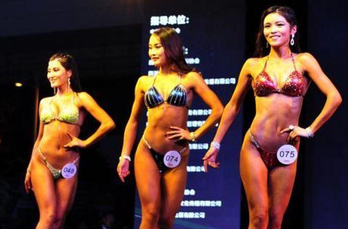 中 쓰촨서 피트니스 챔피언십