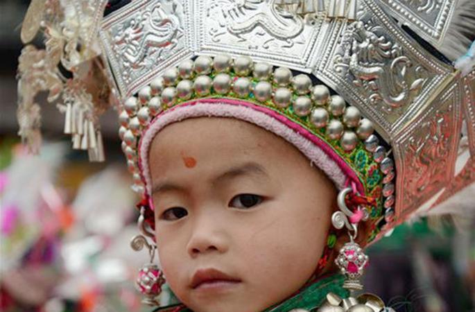 '중국 전통 촌락' 축제, 구이저우 리핑 동족인들의 멋