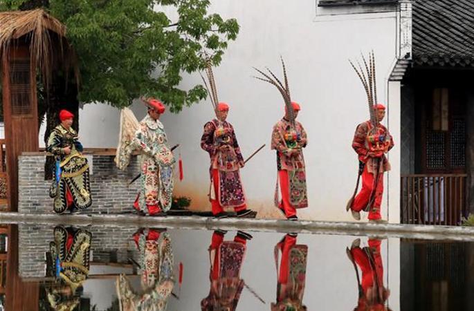 전통문화가 살아 숨쉬는 그곳, 우위안 인상