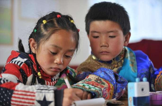 장족 어린이 '하나도 빠짐없이' 교육 기회 누려