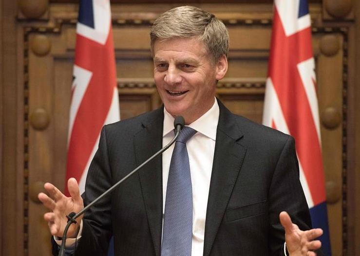 뉴질랜드 신임 총리에 빌 잉글리시 선출