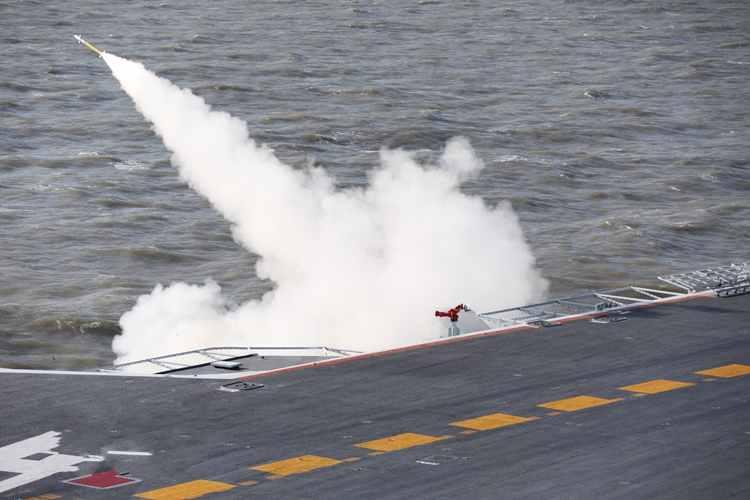 中해군, 항모편대 실제 무기사용 훈련 진행