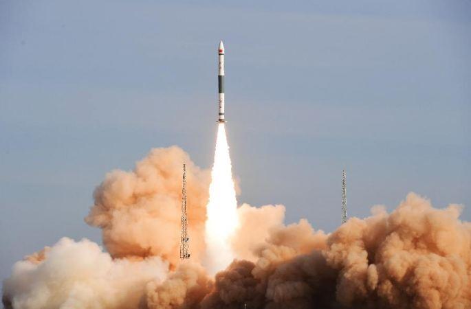 콰이저우1호 갑 소형 운반 로켓, '1 로켓, 3 위성' 발사에 성공