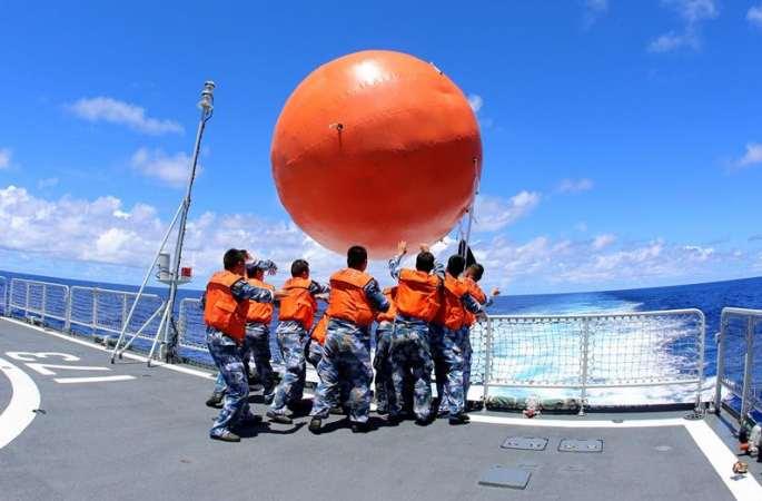 중국해군 남중국해 함대 원양훈련 편대, 해상 반격 훈련 진행