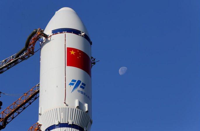 中 화물우주선 톈저우 1호 발사지에 운반, 오는 4월 20일-24일 발사 예정